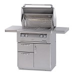 Alfresco 30-inch ALX2 Natural Gas Grill on Deluxe Cart