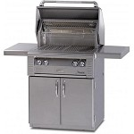 Alfresco 30-inch ALX2 SearZone Natural Gas Grill on Cart