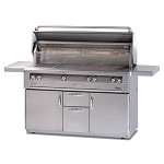 Alfresco 56-inch ALX2 Propane All Grill on Cart