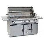 Alfresco 56-inch ALX2 Propane All Grill on Refrigeration Base