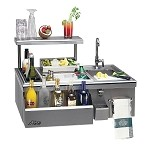 Alfresco 30-inch Built-In Bartender with Sink