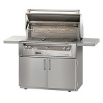 Alfresco LXE Series 42 Inch Sear Zone Grill on Cart - LP