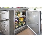 Alfresco LXE Series 28 Inch One Door Refrigerator - Kegerator