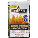 BBQ Island Hickory/Cherry/Oak Wood Pellets - 20 lbs