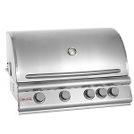 "Blaze 32"" 4-Burner Natural Gas Grill with Rear Burner"