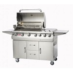 Bull 7 Burner Premium Grill on Cart - LP