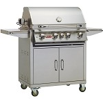 Bull Angus 30 Inch Propane Gas Grill on Cart