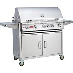 Bull Brahma 38 Inch Propane Gas Grill on Cart
