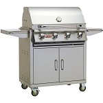 Bull Outlaw 30 Inch Natural Gas Grill on Cart