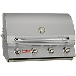 Bull Lonestar Select 30 Inch Natural Gas Grill with Lights