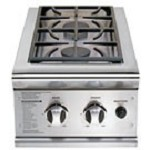 DCS 13 Inch Built In Natual Gas Double Side Burner