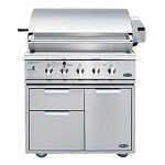 DCS 36 Inch 3 Burner Natural Gas Grill with Rotisserie