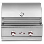 Delta Heat 26 Inch Propane Gas Grill with Interior Light