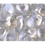 Crystal Ice Diamond Fire Glass - 10 lbs