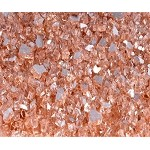 Champagne Reflective Fire Glass 1/4 Inch - 10lbs
