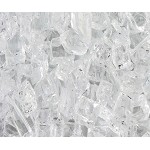 Crystal Ice Fire Glass 1/4 Inch - 10 lbs