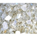Platinum Reflective Fire Glass 1/2 Inch - 10 lbs