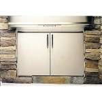 Fire Magic Aurora Stainless Double Door Access