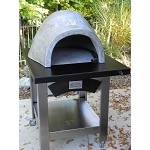 Forno de Pizza Stainless Steel Cart