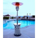 Lava Heat Italia Alto Propane Patio Heater - Gun Metal