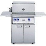 Lynx 27 Inch Professional Propane Gas Grill w/ProSear Burner and Rotisserie on Cart