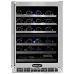 Marvel 24 inch Professional Dual Zone Wine Cellar