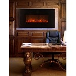 Modern Flames 58 Inch Wall Mount Linear Electric Fireplace
