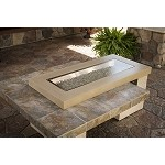 Uptown Fire Table 1242 - Sanjani Porcelain Tile Top