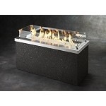 Key Largo Fire Pit Table - Stainless Steel Top with Auto Ignition System