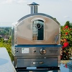 Pacific Living 304 SS Propane Pizza Oven
