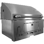 BBQ Island 30 Inch Charcoal Grill - 260 Series