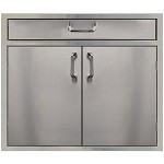 260 Series 30 Inch Double Door with 4 Inch Drawer Combo