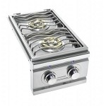 Summerset Natural Gas Double Side Burner with Lights