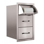 Summerset Two Drawer and Towel Drawer Combo