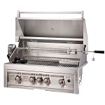 Sunstone 4 Burner 34 Inch Grill with IR Rotisserie - LP
