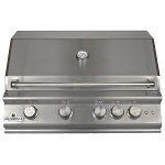 Sure Flame 32 Inch Elite 4 Burner Natural Gas Grill