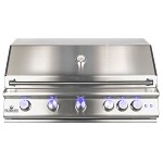 Sure Flame 40 Inch Elite 5 Burner Natural Gas Grill