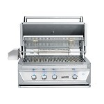 Twin Eagles 36 Inch Natural Gas Grill with Infrared Rotisserie and Sear Zone
