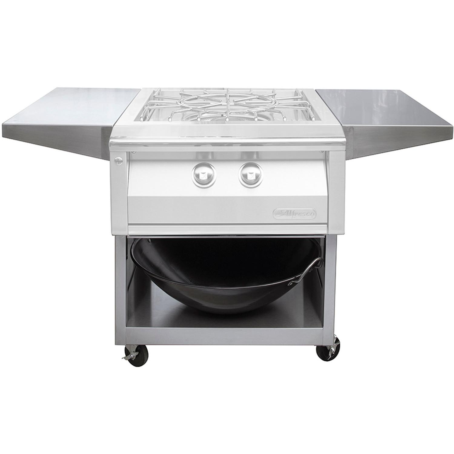Alfresco 24-Inch Cart For Versa Power Cooker