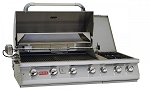 Bull 7 Burner Premium Propane Grill With Lights and Rotisserie