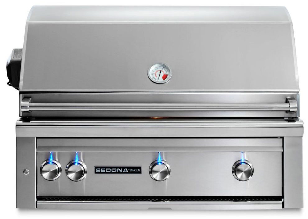 Lynx Sedona 36 Inch Propane Gas Grill with ProSear Burner and Rotisserie