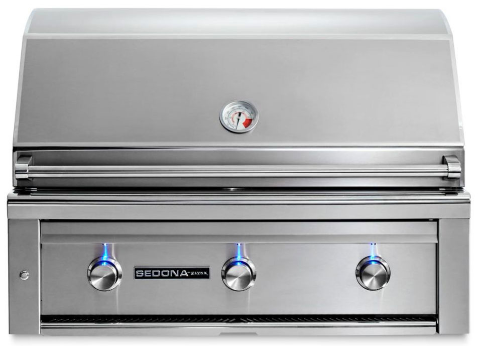 Lynx Sedona 36 Inch Natural Gas Grill - 3 SS Tube Burners