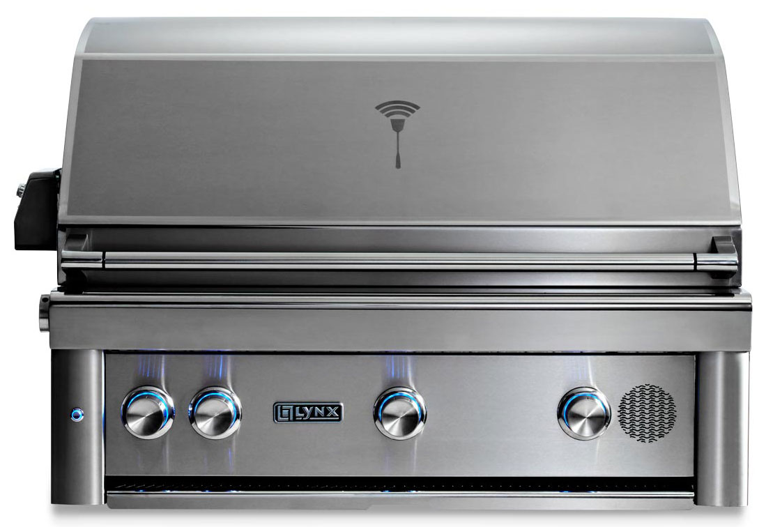 Lynx 36 Inch Built In Smart Grill - Natural Gas