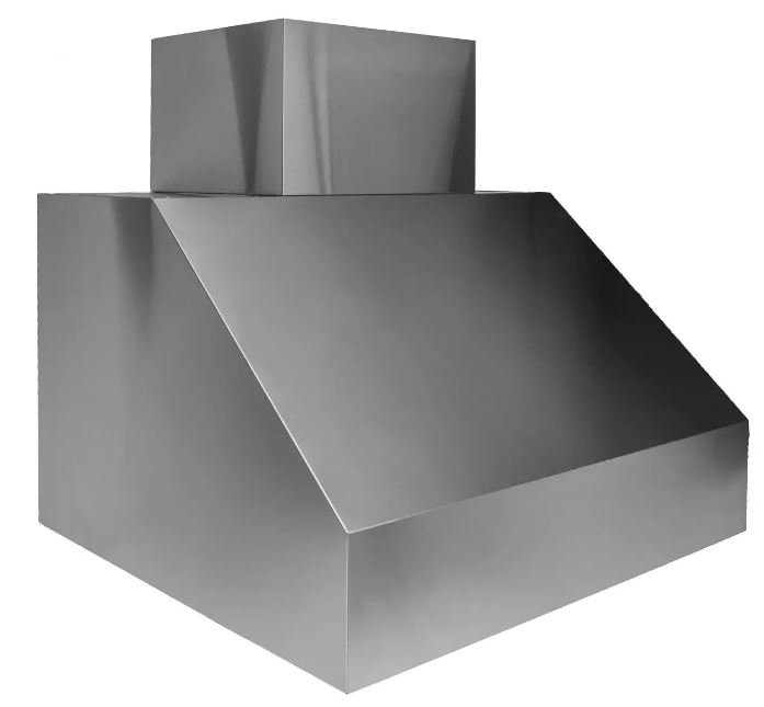 "Trade Wind 66"" 2300 CFM smooth face outdoor vent hood with convertible discharge"