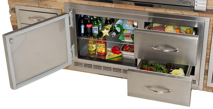 Alfresco Under Grill Refrigerator