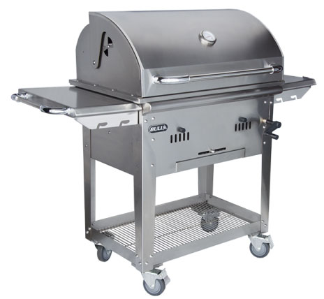 Bull Bison 30 Inch Charcoal Grill on Cart