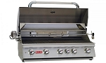 Bull Brahma Propane Grill with Lights and Rotisserie