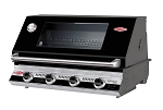 Beefeater Signature 4 Burner Black Porcelain Grill - NG