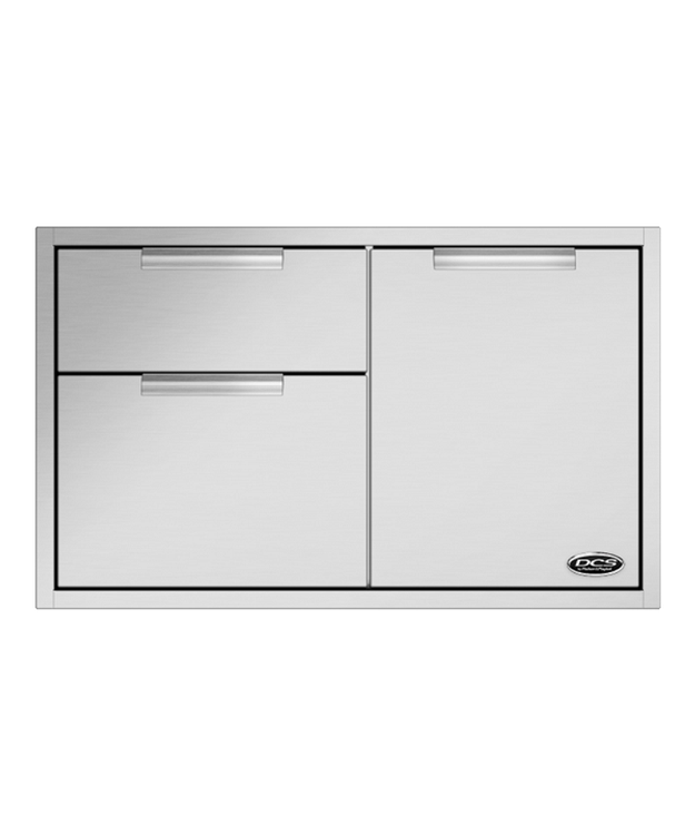 DCS Built-In 36 Inch Combo Unit