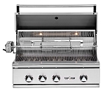 Delta Heat 32 Inch Natural Gas Grill with Interior Lights